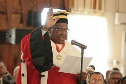 Koné Mamadou, Président du Conseil constitutionnel. Ph.Dr