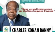 Echec par-ci, haine par-là/ La sortie honteuse de Banny de la politique ivoirienne