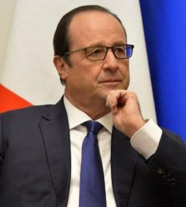 Le Président français François Hollande.Ph.Dr