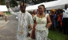 Laurent  Okoué et Ouattara Bénie  Ruth se sont dit ''OUI''