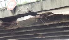 Réédition:CI-Infrastructures/Pont piéton de Yopougon-Andokoi : Un danger permanent pour les usagers