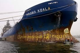 Le bateau probo koala.Ph.Dr