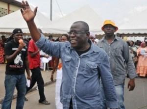 ... tout comme Cissé Bacongo, l'un des cadres du parti...