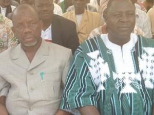 Vice-président, El Hadj Kindo Issaka.Ph.Dr