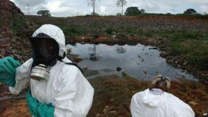 Dès les premières heures du déverssement des déchets toxiques en aout 2006.Ph.Dr