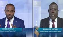 Débat sur la limitation de la durée du mandat présidentiel, André Silver Konan à Cissé Bacongo : « Vos arguments sont d'une vacuité étonnante, voici les preuves »