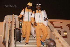 L'arrivée des athlètes ivoiriens à Khartoum PH.abidjan.net