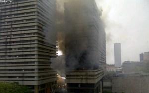 un incendie se déclare aux finances