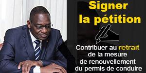 Le ministre des Transports, Gaoussou Touré