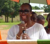 Chantal Moussokoura Fanny, Maire de la commune de Kaniasso.