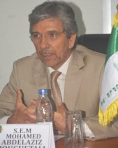L'ambassadeur de l'Algérie en Côte d'Ivoire, SEM Abdelaziz Bouguetaia. Ph: Le Patriote