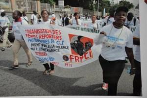 L'Ofrep-CI , à l'occasion de la Journée internationale de liberté de la presse (PH:Ofrep-CI)
