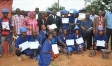 Côte d'Ivoire-Man/Après la formation : 25 Stagiaires reçoivent leur attestation #Enseignementtechnique