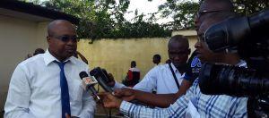Le président de la CSCI, Dr Christophe Kouamé et la société civile demande des conditions appropiées pour une nouvelle Constitution. Ph. Dr