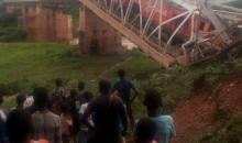 Dimbokro/Un train- marchandises plonge dans un ravin après avoir cassé un pont