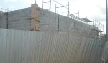 Nouvelle gare de Bingerville : Un vaste chantier sans panneau réglementaire sort de terre #Constructionanarchique