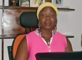Irène Kouadjo, guide stagiaire, Coordinatrice pour le Programme national de sensibilisation à l'éducation sexuelle de l'enfant.
