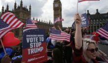 Plus d'un million de signatures pour une pétition contre la visite de Trump au Royaume-Uni