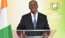 Vœux de nouvel an : l'adresse du président Ouattara aux chefs des Institutions