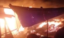 Bouaké / Incendie  au quartier Dar Es Salam : 5 magasins partent en fumée
