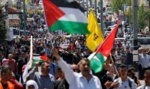 Les Palestiniens manifestent en soutien aux prisonniers en grève de la faim