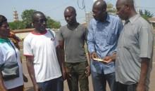 Suite à la mutinerie : le Comité civilo-militaire de la région du Poro au chevet des blessés #Korhogo