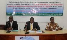 Côte d'Ivoire : la CNDHCI exhorte les défenseurs des Droits de l'Homme  à s'approprier la loi N° 2014-388 du 20 juin 2014