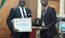 Secteur de l'immobilier : Jean Marie Koné reçoit le prix de la meilleure structure privée pour l'innovation #TechnopoleHolding