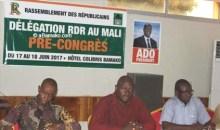 RDR: Les militants du Mali, pour l'élection du Président Alassane Ouattara à la tête de leur parti en 2020# Direction