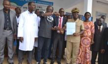 Santé universitaire : l'Université Peleforo Gon dotée d'une ambulance #Korhogo