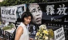 Les cendres du prix Nobel de la paix chinois dissident Liu Xiaobo dispersées en mer