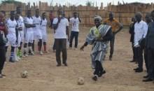 Tournoi de cohésion sociale : le top départ donné par le parrain Kaho Bedel Emmanuel #Guiglo