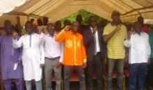 Côte d'Ivoire/ Remobilisation des militants du Tonkpi pour le 3 e congrès : Diaby Lanciné aux militants du Tonkpi : « Alassane Ouattara est le premier frustré au RDR »