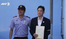 Corée : l'héritier de Samsung condamné à cinq ans de prison pour corruption