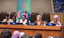 Mme Dominique Ouattara lors de la réunion de haut niveau de l'OPDAS : « il nous apparaît primordial d'améliorer les conditions de vie des jeunes »