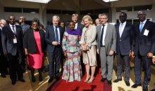 Sensibilisation à la vaccination : Son Altesse Royale, la Princesse Astrid de Belgique visite l'INHP #Santé