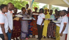 Rentrée scolaire 2017-2018 : l'Ong ''Femmes d'Exploit'' soulage 300 élèves #Education
