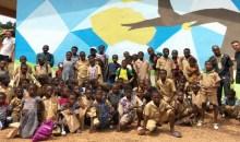 Développement de l'esprit d'ouverture : Laure Baflan Donwahi initie un projet communautaire d'art au profit des élèves du primaire #CommunedeMayo
