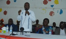 En tournée dans le Cavally : Affi N'Guessan propose un poste à Hubert Oulaye #UnitéduFpi