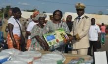 Côte d'Ivoire/Toulépleu : Anne  Ouloto offre du matériel agricole aux femmes du Cavally #AutonomisationdesFemmes