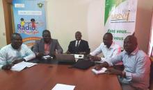 Coopération : une délégation des Radios communautaires du Bénin à Abidjan, pour des échanges et signatures de convention avec l'URPCI