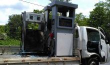 Un véhicule en partance pour Kaniasso avec du matériel de station s'enflamme à Odienné