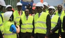 Côte d'Ivoire : le Ministre en charge de l'Industrie se rend compte des travaux effectués et du niveau de construction sur les sites des zones industrielles de Yopougon et PK 24