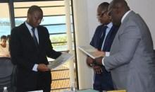 [Côte d'Ivoire Média] Le ministre de la Communication et des Médias s'imprègne des réalités de la Caidp et de l'ANP