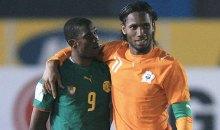 [Samuel Eto'o à propos de la retraite de Didier Drogba] «Mais tu me laisse avec qui ?»