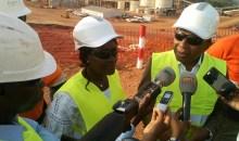 [Côte d'Ivoire] En visite dans la mine d'or d'ity, le ministre satisfait des réalisations sociales dans les villages