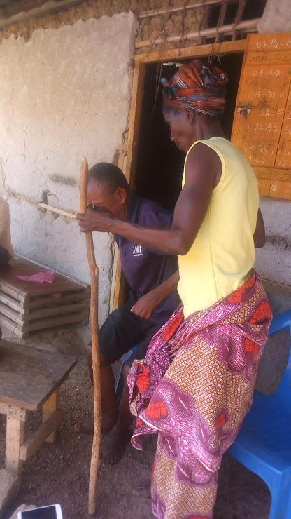 Diétro Rémy, le chef de la famille Diétro vit des instants difficiles à Fengolo