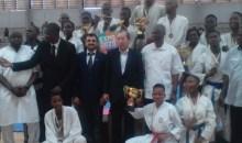 [Côte d'Ivoire/Sport] La Culture Japonaise à l'honneur lors de la Coupe Karaté de l'ambassadeur du Japon 2019