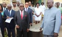 [Côte d'Ivoire/Santé] Le ministre Aka Aouélé satisfait des travaux de construction de la maternité obstétricale de la Fsucom de Wassakara