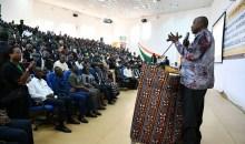 [Côte d'Ivoire/Visite de travail dans le Tonkpi] Les étudiants de l'université de Man invités au travail et au respect de la patrie